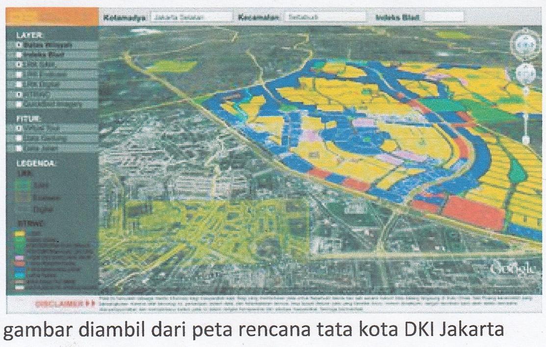 Dua Bulan Lagi Dokumen Tata Kota DKI Akan Dibuka