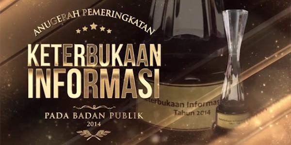 KIP Gelar Anugerah Keterbukaan Informasi Publik 2014