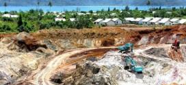 Ilustrasi tambang di Aceh